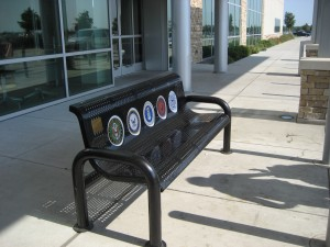 The Fort Worth Post Donates Bench