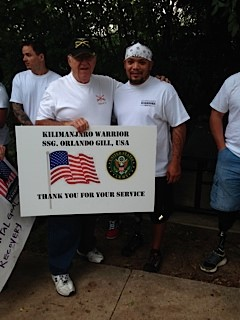 SAME Fort Worth Member and Fellow, JB West, Supporting and Encouraging Wounded Warriors