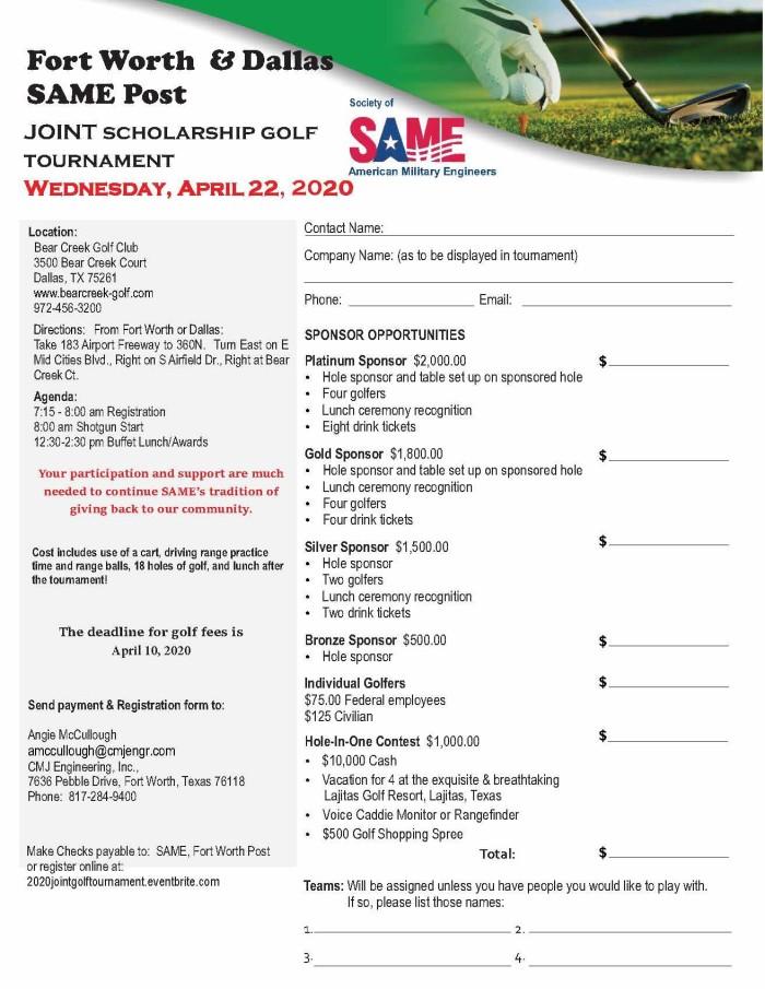 2020 Golf Flier